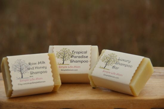 21 Handmade Christmas Gifts - Shampoo Bars from Simple Life Mom