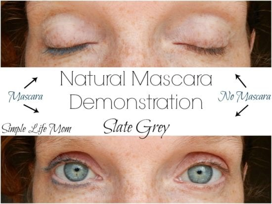 Natural Mascara Recipe with Clay and Aloe