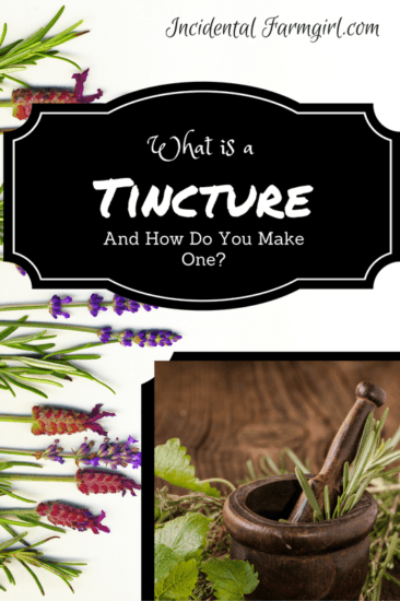 Homestead Blog Hop Feature - what-is-a tincture