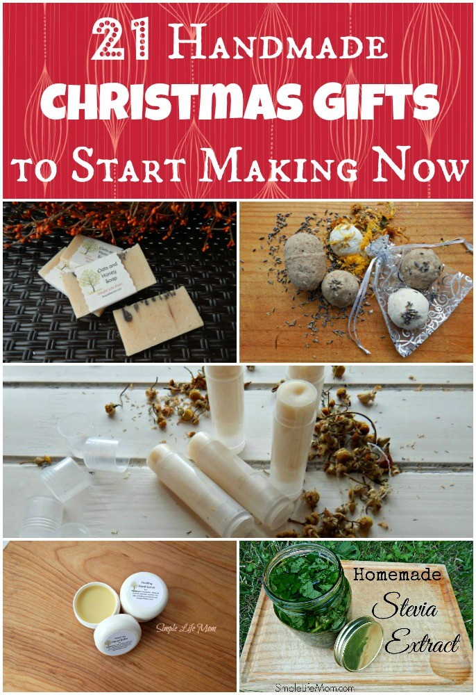 21 handmade christmas gifts to start making now simple life mom 21 handmade christmas gifts to start making now by simple life mom forumfinder Image collections