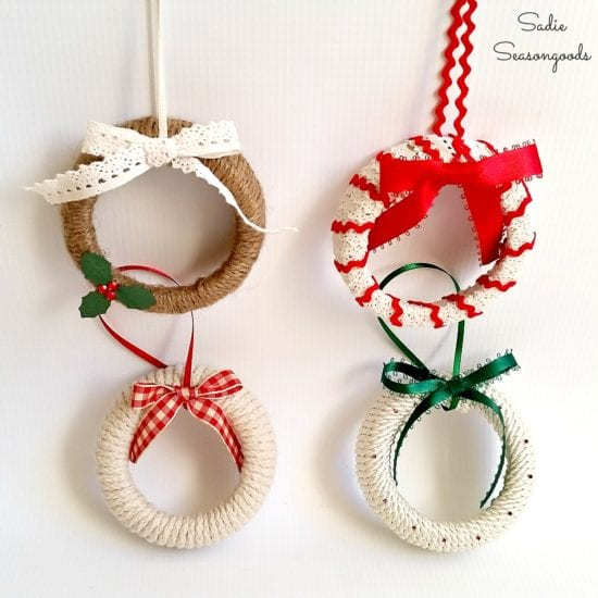 12 diy old fashioned christmas ornaments - Old Time Christmas Decorations