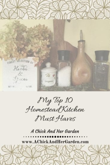 Homestead Blog Hop Feature - my-top-10-homestead-kitchen-must-haves
