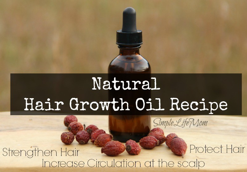Natural Hair Growth Oil Recipe from Simple Life Mom