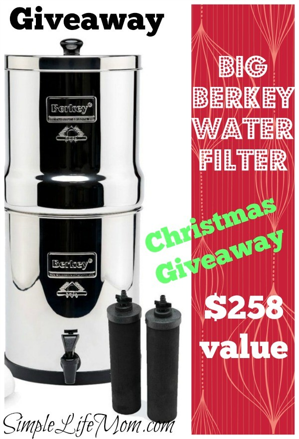 Big Berkey Water Filter Giveaway from Simple Life Mom