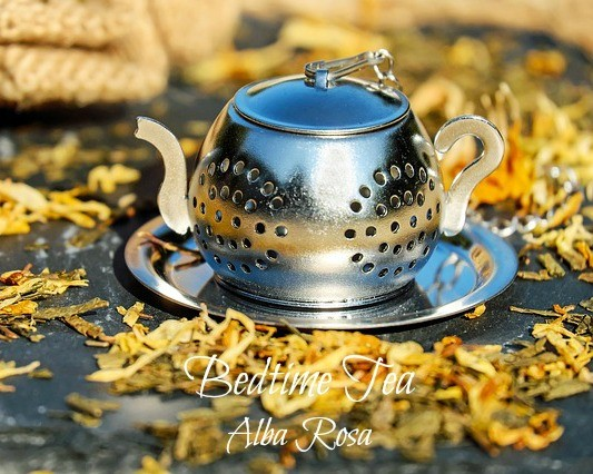 Featured on the Homestead Blog Hop - Bedtime tea