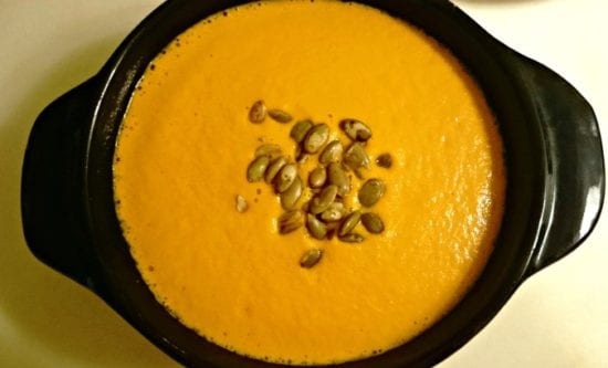 Featured on the Homestead Blog Hop - Carrot-Ginger-Soup-2