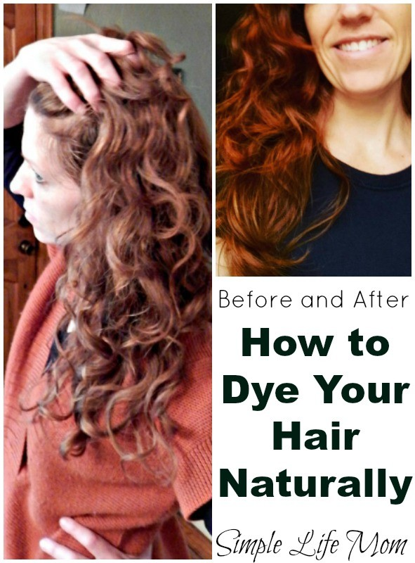How To Dye Your Hair Naturally Step By Step Guide Simple Life Mom