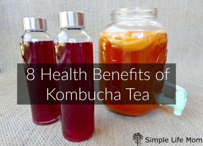 8 Health Benefits of Kombucha Tea by Simple Life Mom