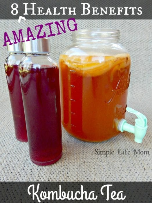 8 Health Benefits of Kombucha Tea from Simple Life Mom