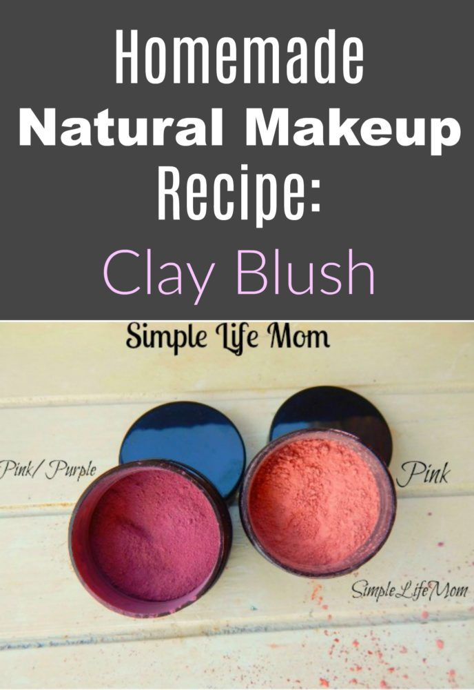 Homemade natural makeup recipe clay blush simple life mom for Simple living mom