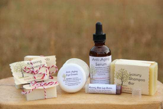 Natural Beauty Gift Set by Simple Life Mom
