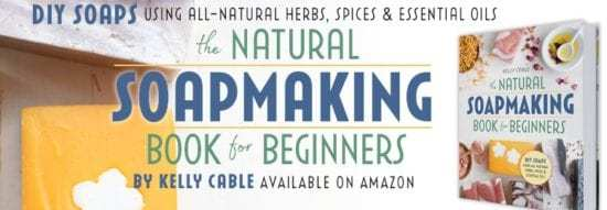 Natural Soapmaking Book for Beginners by Kelly Cable Layer Slider