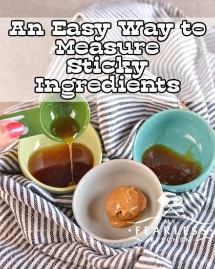 Homestead Blog Hop Feature - measure-sticky-ingredients