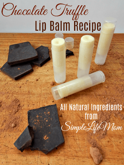 Chocolate Truffle Lip Balm Recipe: Great Handmade Gifts
