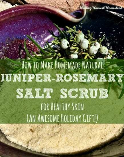 Homestead Blog Hop - Blog+Pic+Juniper+Salt+Scrub