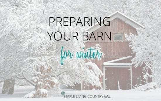 Homestead Blog Hop Feature - preparing-your-barn-for-winter