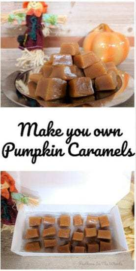 Homestead Blog Hop - Pumpkin caramel recipe