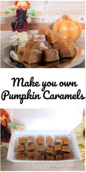 Homestead Blog Hop - Pumpkin caramel recipe