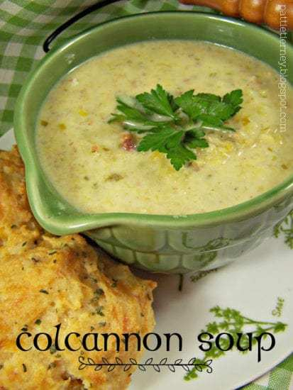 Homestead Blog Hop Feature - Colcannon Soup