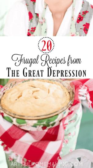 Homestead Blog Hop Feature - depression-era-frugal-recipes