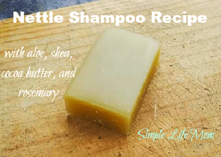 Nettle Shampoo Recipe by Simple Life Mom