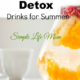 11 Herbal Detox Drinks for Summer