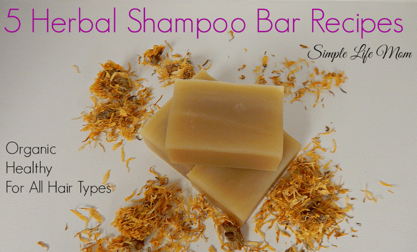 5 Herbal Shampoo Bar Recipes from Simple Life Mom