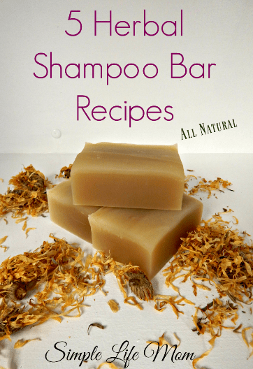 5 Herbal Shampoo Bar Recipes