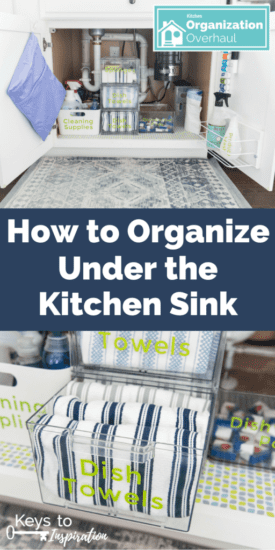 Homestead Blog Hop Feature - How to Organize Unde the Kitchen Skin
