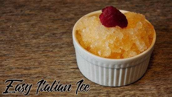 Homestead blog Hop Feature - Easy Italian Ice