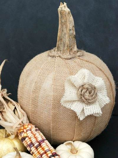 Homestead Blog Hop Feature - Dollar Store Fall Decor Ideas