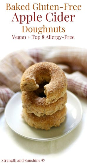 Homestead Blog Hop Feature - Baked-Gluten-Free-Apple-Cider-Doughnuts-Vegan-Allergy-Free