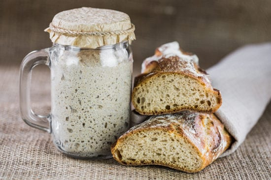 Homestead Blog Hop Feature - How to Make Sourdough Starter