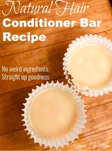 Conditioner Bar Recipe - Natural
