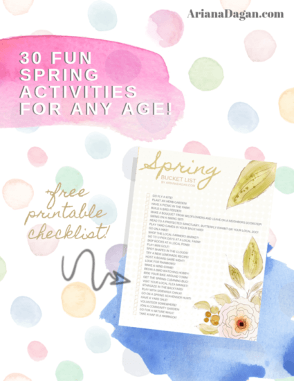 Homestead Blog Hop Feature - 30 Fun Spring Activities