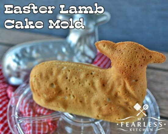 Homestead Blog Hop Feature - Easter lamb-cake-mold