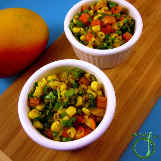 Homestead Blog Hop Feature - mango-corn-salsa