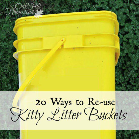 https://www.oakhillhomestead.com/2016/03/20-ways-to-re-use-kitty-litter-buckets.html