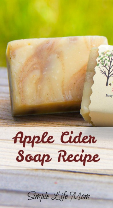 Apple Cider Soap Recipe From Simple Life Mom