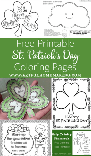 Homestead Blog Hop Feature - Free-Printable-St.-Patricks-Day-Coloring-Pages