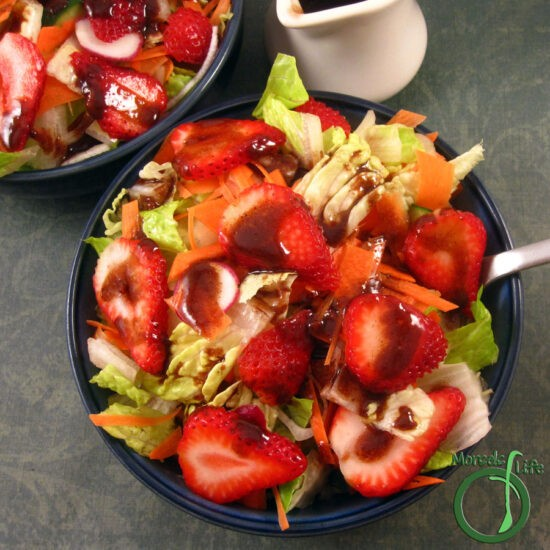 Homestead Blog Hop Feature - roasted-strawberry-balsamic-vinaigrette