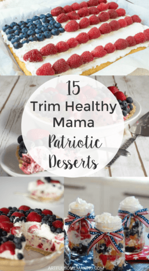 Homestead Blog Hop Feature - 15-Trim-Healthy-Mama-Patriotic-4th-of-July-Desserts