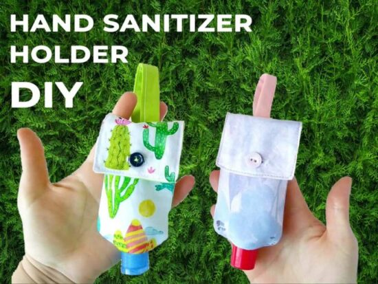 Homestead Blog Hop Feature - hand-sanitizer-holder