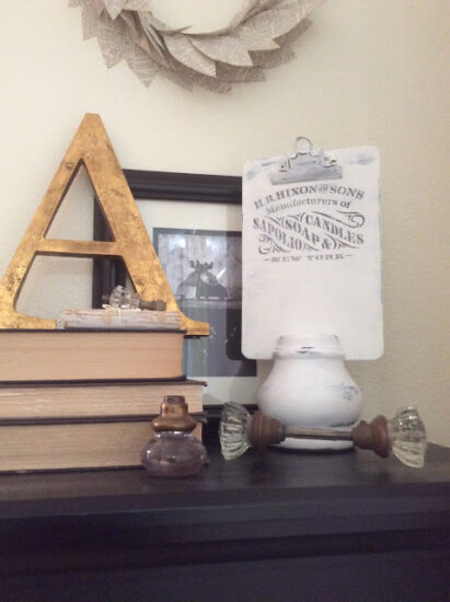 Homestead Blog Hop Feature - Thrifted Clipboard