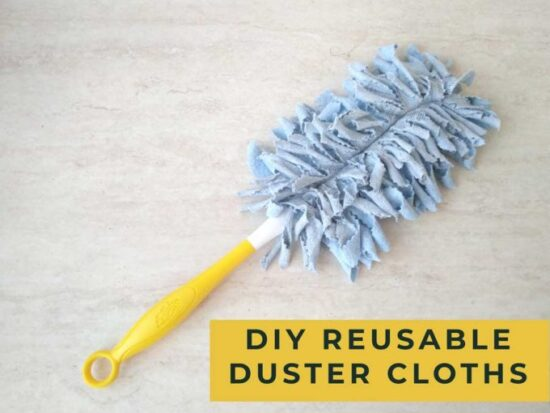 Homestead Blog Hop Feature - reusable-swiffer-duster-cloth