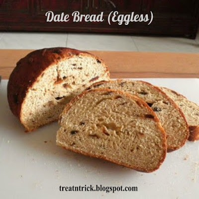 homestead blog hop feature - date bread recipe