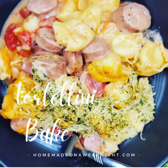 Homestead Blog Hop Feature - Tortellini Bake