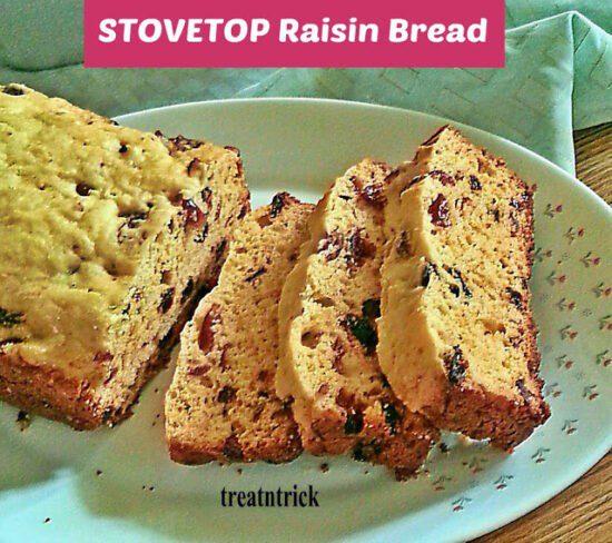 Homestead Blog Hop Feature - Stovetop Raisin Bread Recipe