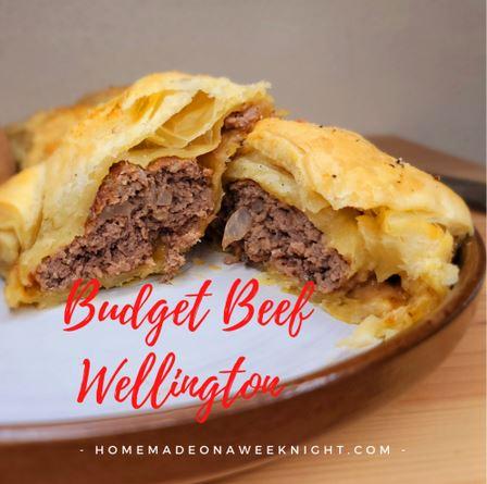 Homestead Blog Hop Feature - Budget Beef Wellington